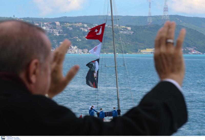 Χαιρετισμός ερντογάν
