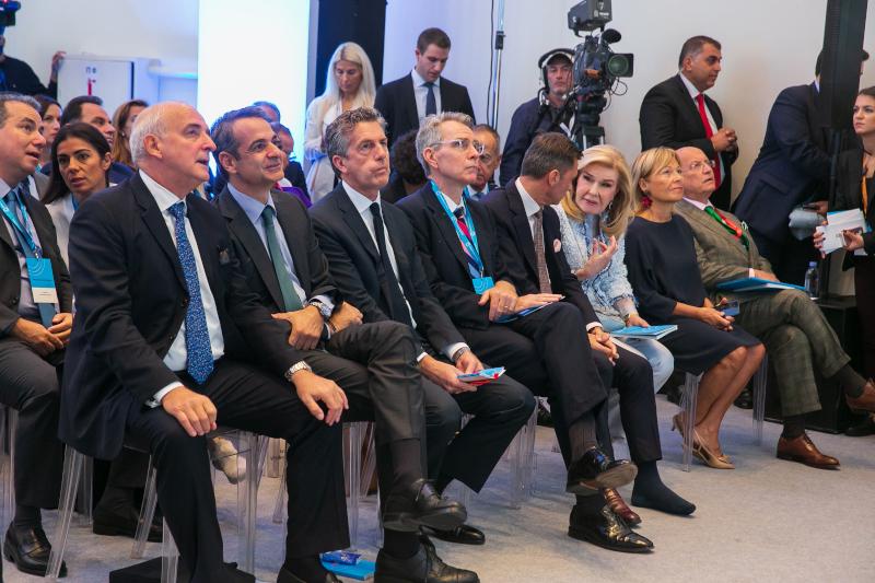 Στιγμιότυπο από τις εργασίες του Athens Democracy Forum