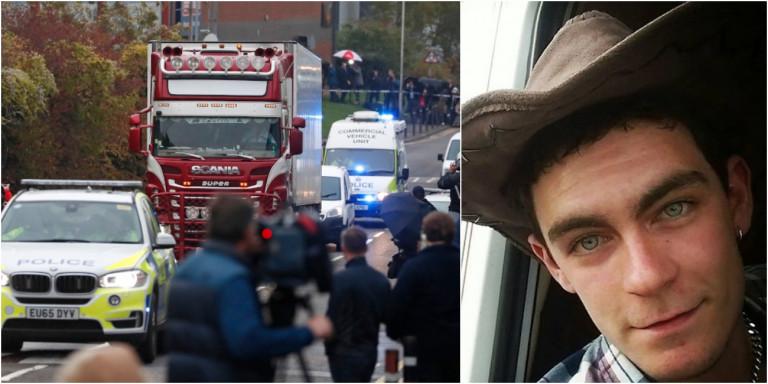 Ο 25χρονος Ρόμπινσον που οδηγούσε το φορτηγό όπου εντοπίστηκαν τα 39 πτώματα στο Έσσεξ