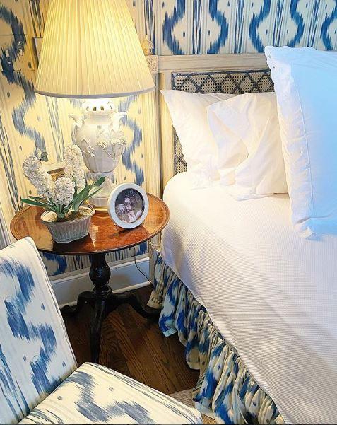 Η κρεβατοκάμαρα της γιαγιάς της Estée Lauder