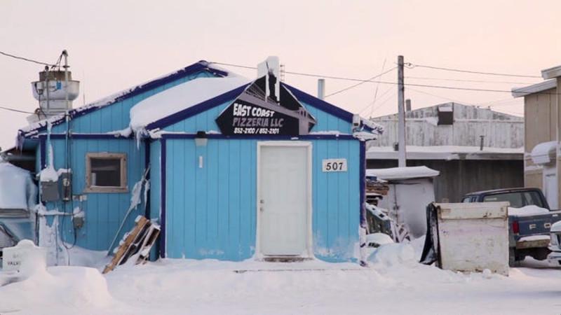 Εστιατόριο σε πόλη της Αλάσκας