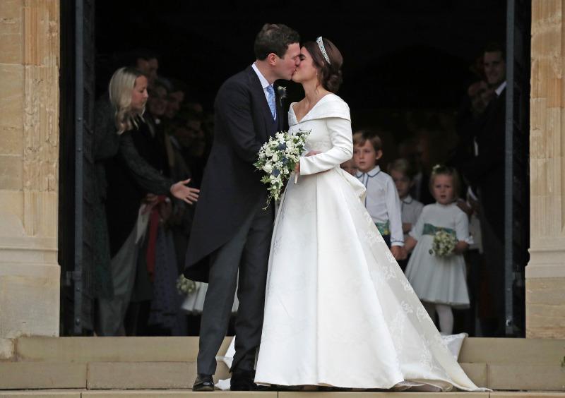 Η πριγκίπισσα Ευγενία παντρεύτηκε τον εκλεκτό της καρδιάς της Τζακ Μπρουκσμπάνκ