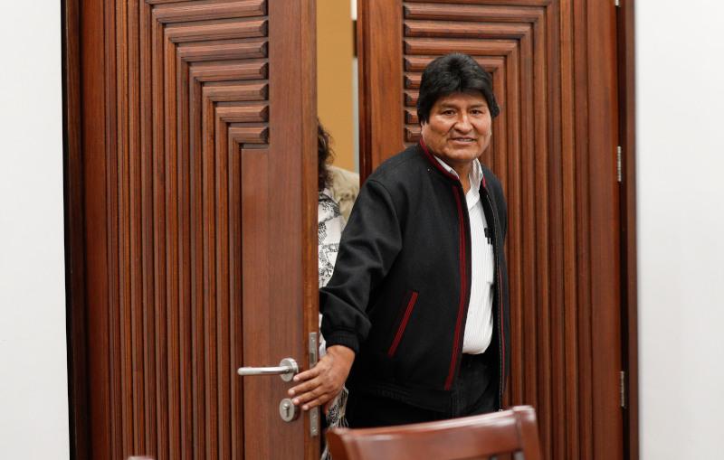 Ο πρόεδρος της Βολιβίας, Έβο Μοράλες