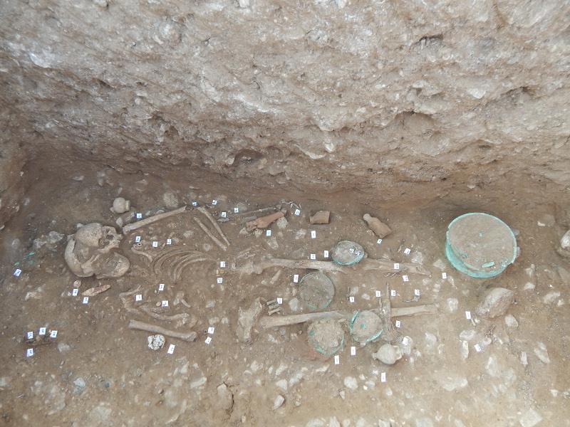 Σημαντικά ευρήματα στον αρχαιολογικό χώρο Αχλάδας Φλώρινας / Φωτογραφία: EUROKINISSI