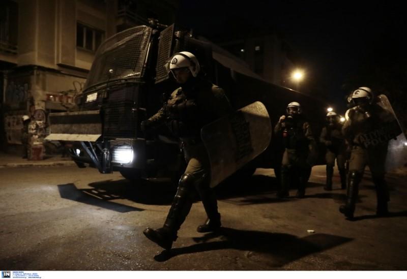 Η ισχυρή αστυνομική δύναμη απέτρεψε επέκταση των επεισοδίων
