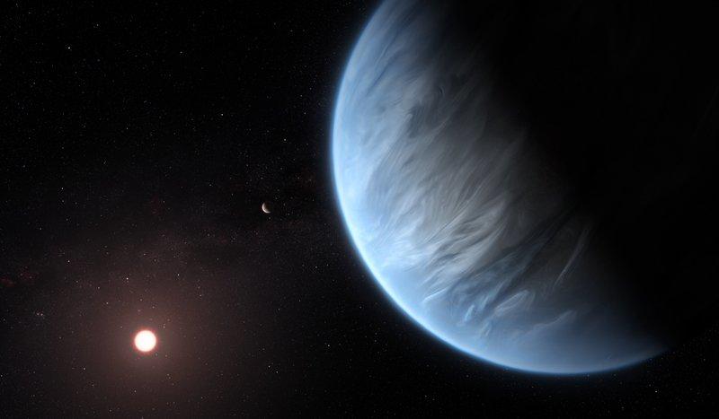 Καλλιτεχνική απεικόνιση του εξωπλανήτη