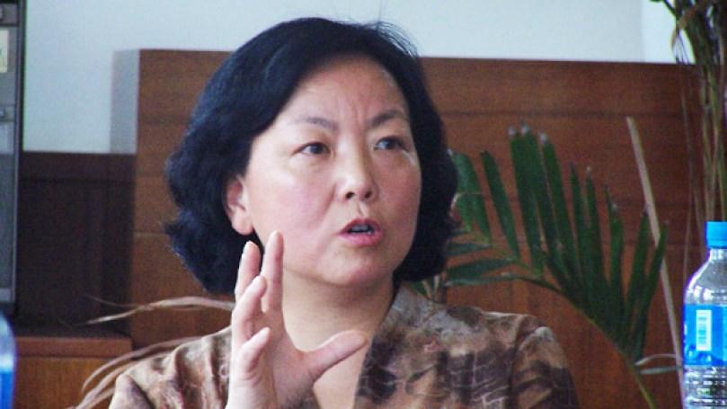 Η γνωστή Κινέζα συγγραφέας Φανγκ Φανγκ