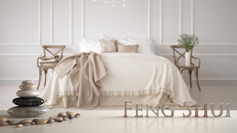 λευκή κρεβατοκάμαρα