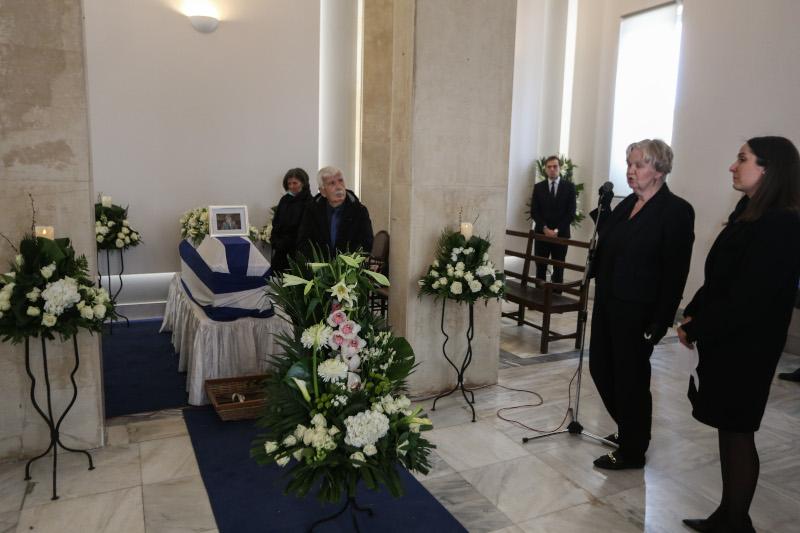 Φίλιππος Πετσάλνικος κηδεία