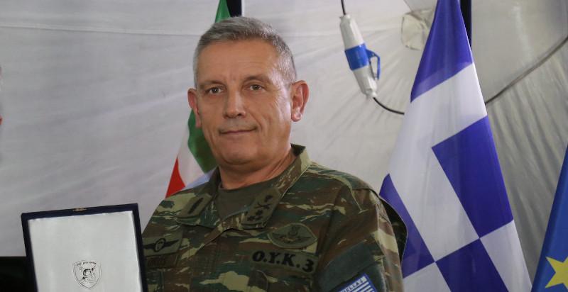Ο νέος Αρχηγός ΓΕΕΘΑ Αντιστράτηγος (ΠΖ) Κωνσταντίνος Φλώρος
