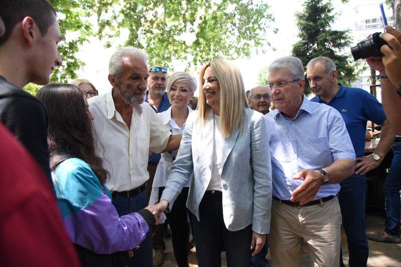 «Ο αγροτικός κόσμος δεν έχει πια καμία άλλη ανοχή απέναντι στην κυβέρνηση ΣΥΡΙΖΑ» είπε η Φώφη Γεννηματά.
