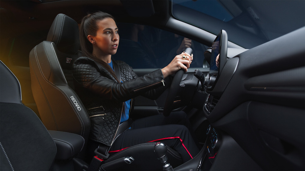 H Ford παρουσιάζει τις δυνατότητες του νέου Puma ST