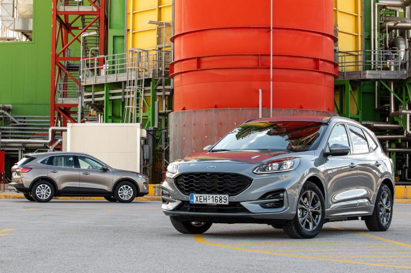 H παραγωγή του Ford Kuga δε…σταματά ποτέ