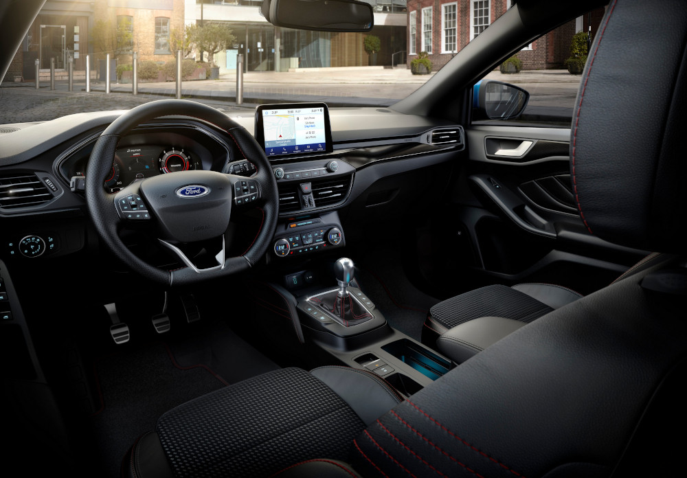 Το Ford Focus με ήπια υβριδική τεχνολογία