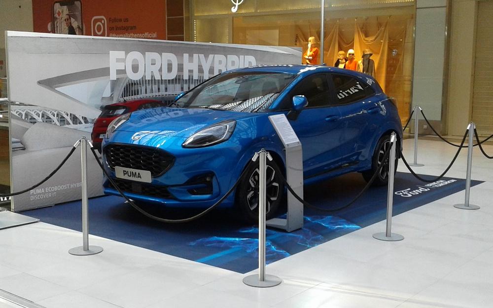 To νέο Ford Puma στο «The Mall Athens»