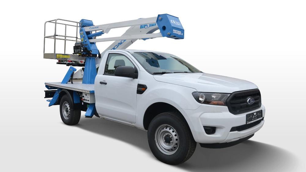 Νέα έκδοση Chassis Cab για το Ford Ranger