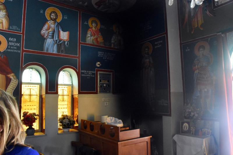 Φωτιά σε εκκλησία