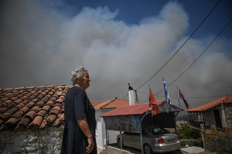 Δύο φορές μέσα σε 24 ώρες προληπτική εκκένωση του ίδιου χωριού