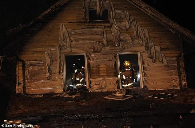 Οι πυροσβέστες έδωσαν μάχη με τις φλόγε