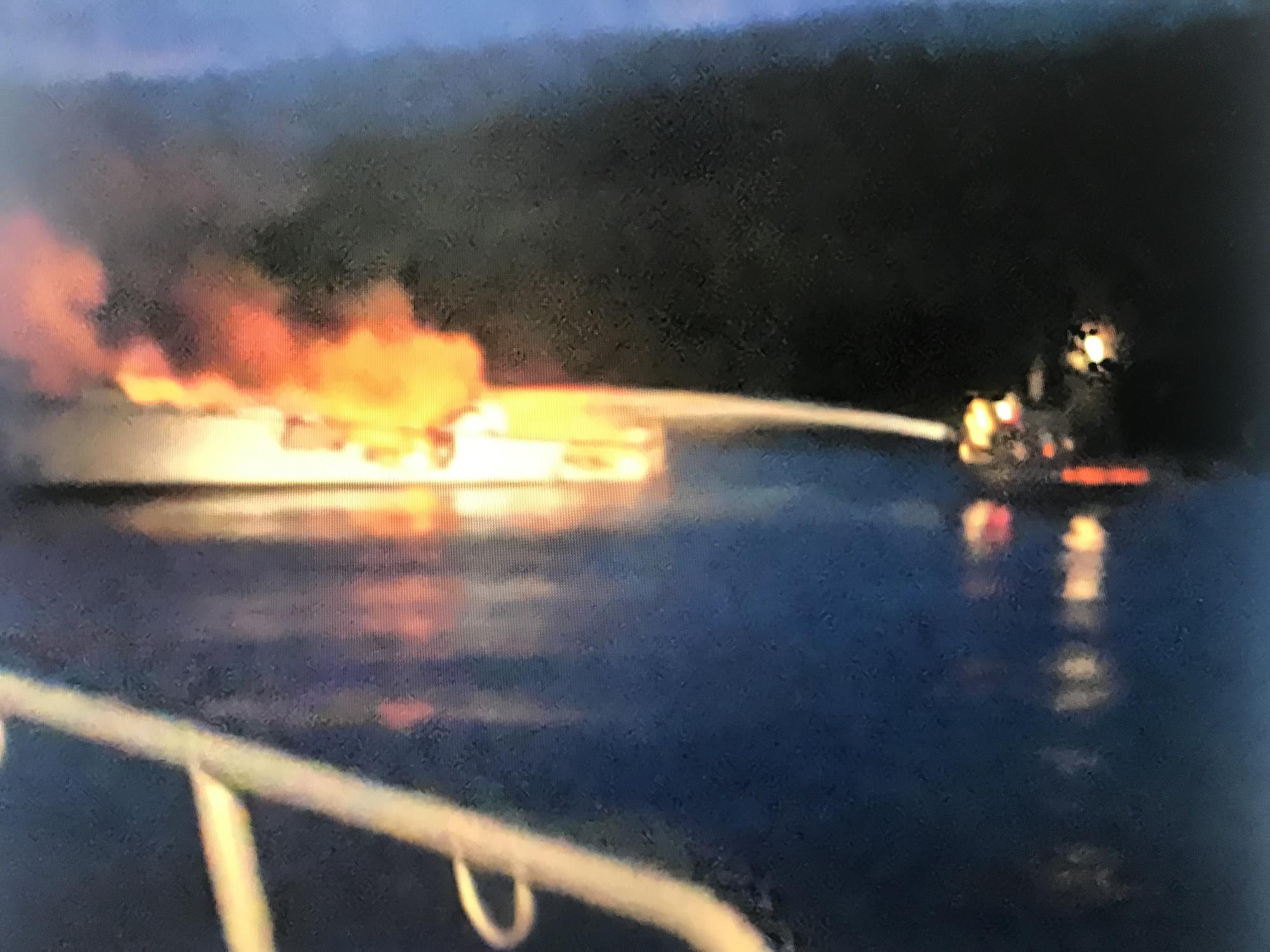 Φωτιά σε πλοίο