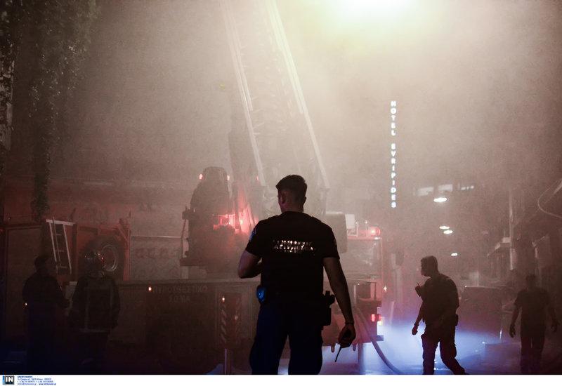 Πυρκαγιά σε διαμέρισμα στη συμβολή των οδών Μενάνδρου και Ευριπίδου