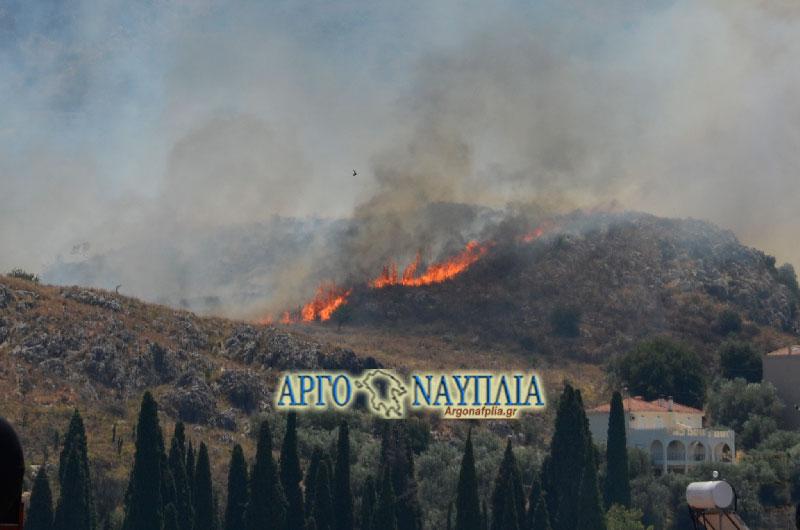 φωτι αστο βουνο