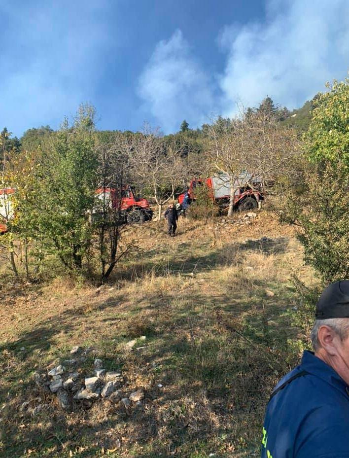 Πυροσβεστικές δυνάμεις στην περιοχή