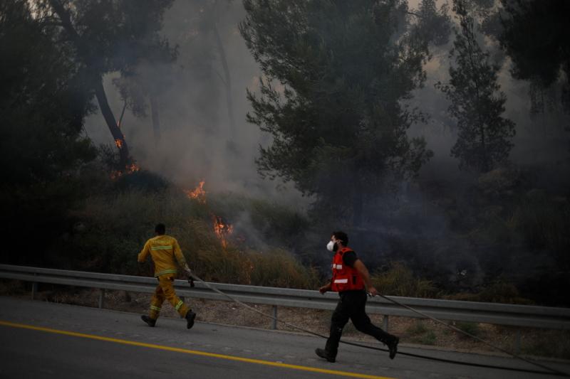 Πυρκαγιές στο Ισραήλ