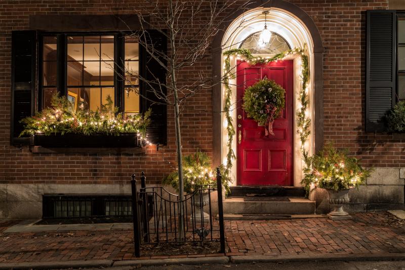 Τα εξωτερικά φυτά μπορούν να παίξουν τον ρόλο του χριστουγεννιάτικου δέντρου