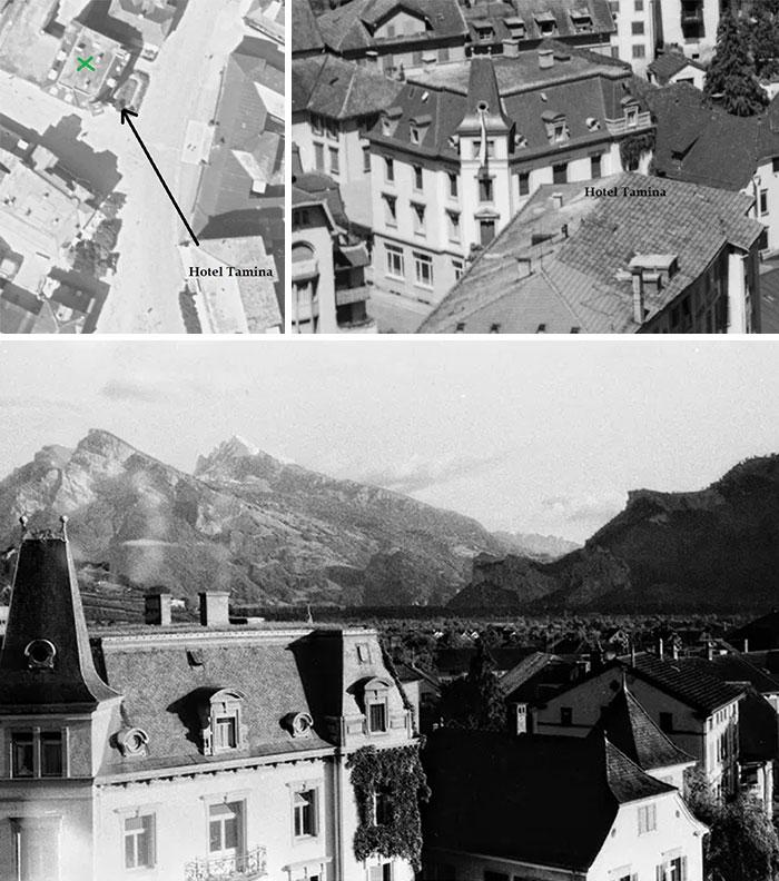 Τα στοιχεία που βοήθησαν να αποδεχθεί ότι το ζευγάρι επισκέφθηκε το Hotel Tamina στην Ελβετία