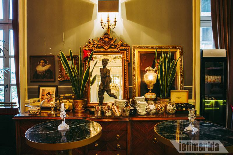 Διακόσμηση του Foyer Café Bistrot
