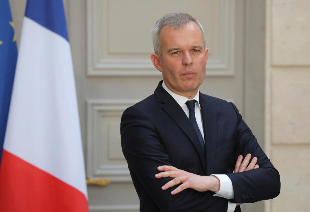 Ο Γάλλος υπουργός οικολογικής μετάβασης Φρανσουά Ντε Ρουζί