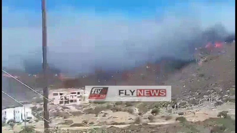 Η φωτιά στην Ελαφόνησο