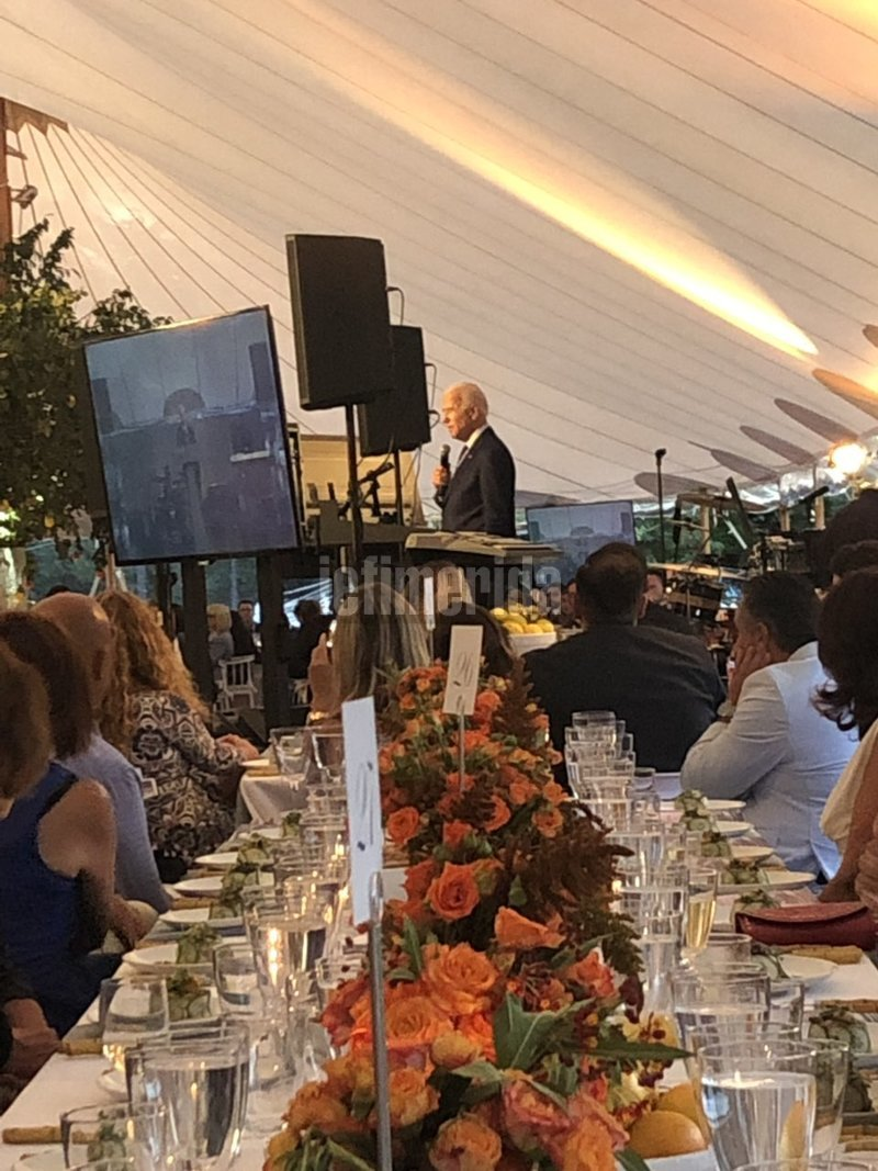 Ο Τζο Μπάιντεν στην ομιλία του προς τους ομογενείς