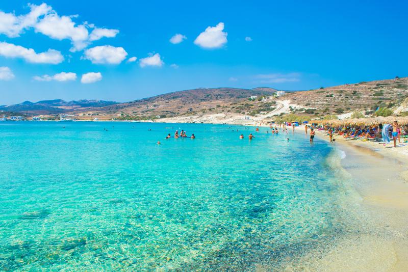 Παραλία Πράσσα Κίμωλος