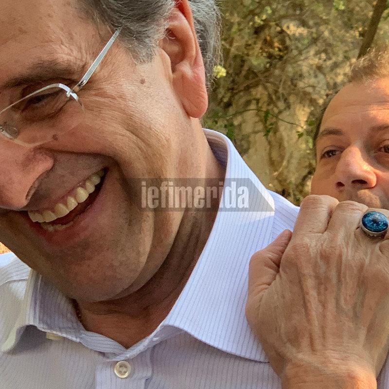 Ο Αντώνης Σαμαράς στο γάμο Κικίλια-Μπαλατσινού