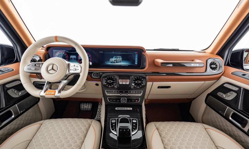 Χάρη στη μεταμόσχευση του V12, το G-Class, μπορεί να κάνει το 0-100  σε 3,8 δευτερόλεπτα και να φτάσει τα 280 χλμ τελικής ταχύτητας.