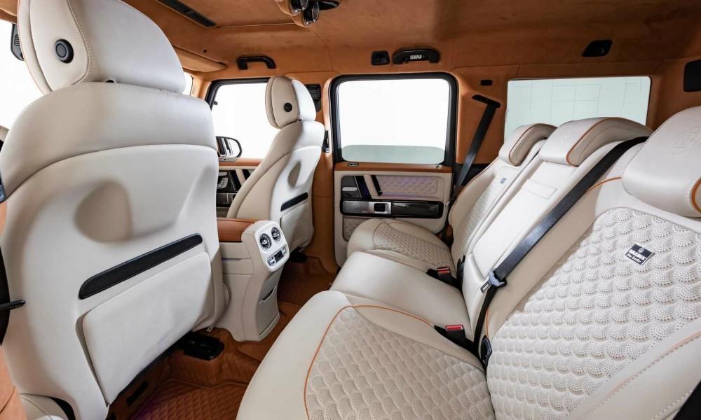 Το Mercedes Brabus G V12 900 είναι ένα από τα πιο πολυτελή και δυνατά SUV, που ο κόσμος των αυτοκινήτων έχει δει ποτέ.
