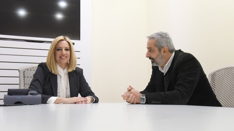 Η Φώφη Γεννηματά μιλά στον Αγγελο Μόσχοβα και στο iefimerida.gr