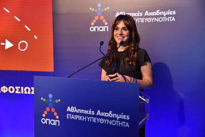 Γεωργία Λασανιάνου, Διευθύντρια Εταιρικής Υπευθυνότητας και Δημοσίων Σχέσεων ΟΠΑΠ