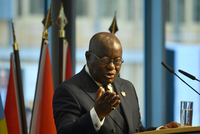 Ο πρόεδρος της Γκάνα Νάνα Ακούφο Άντο