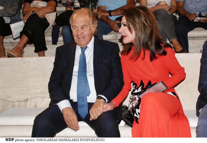 Θεόδωρος Αγγελόπουλος, Γιάννα Αγγελοπούλου, στο Ηρώδειο Σεπτέμβριος 2019