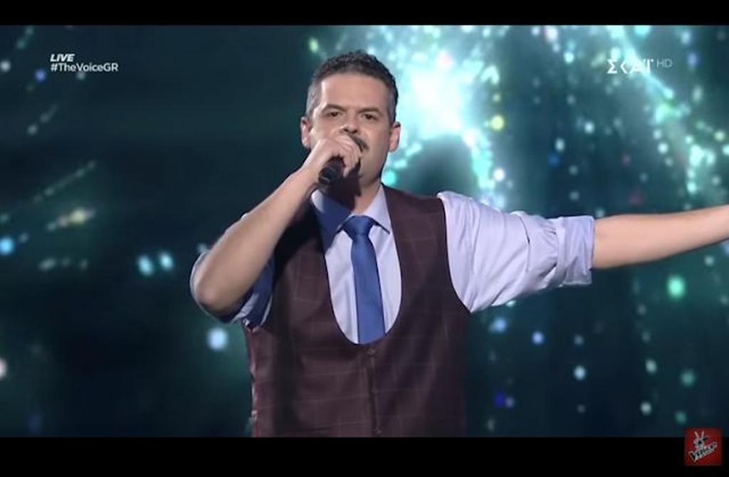 Ο Γιάννης Πανουκλιάς του The Voice.