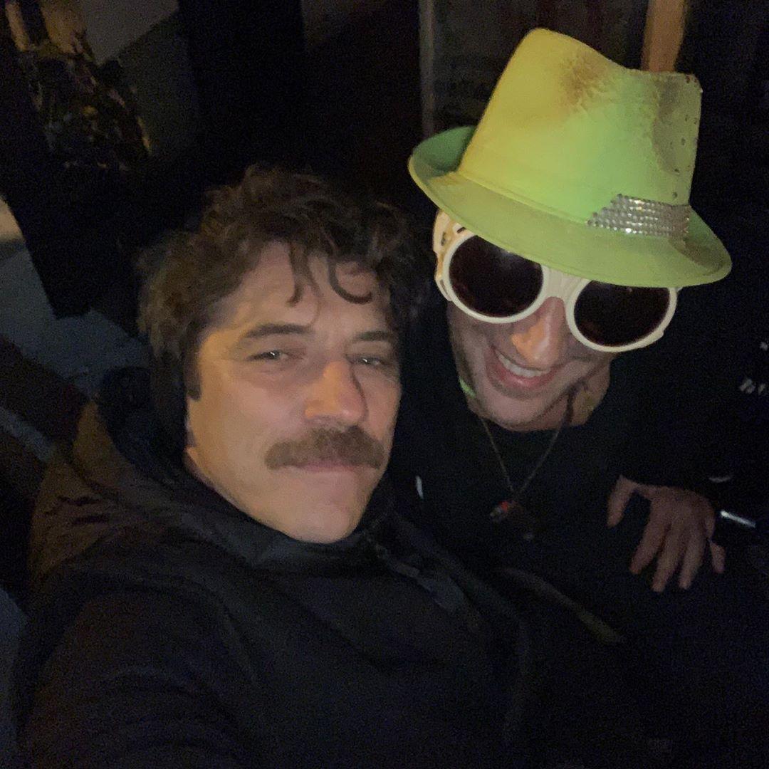 Ο Γιάννης Στάνκογλου με τον Βαγγέλη Αλεξανδρή
