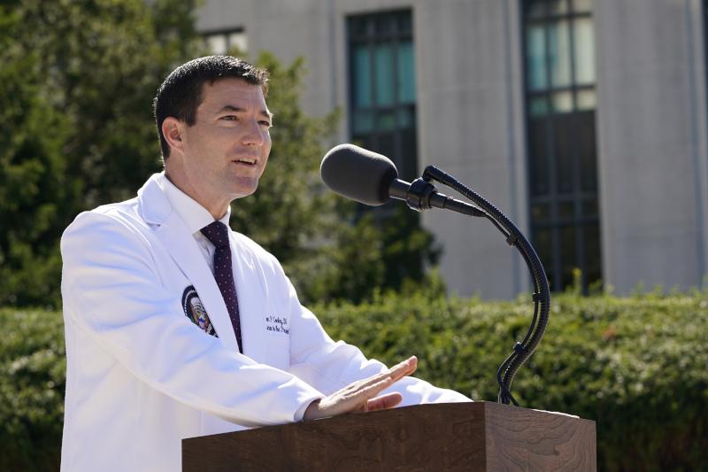 Ο γιατρός του Λευκού Οίκου Σον Κόνεϊ