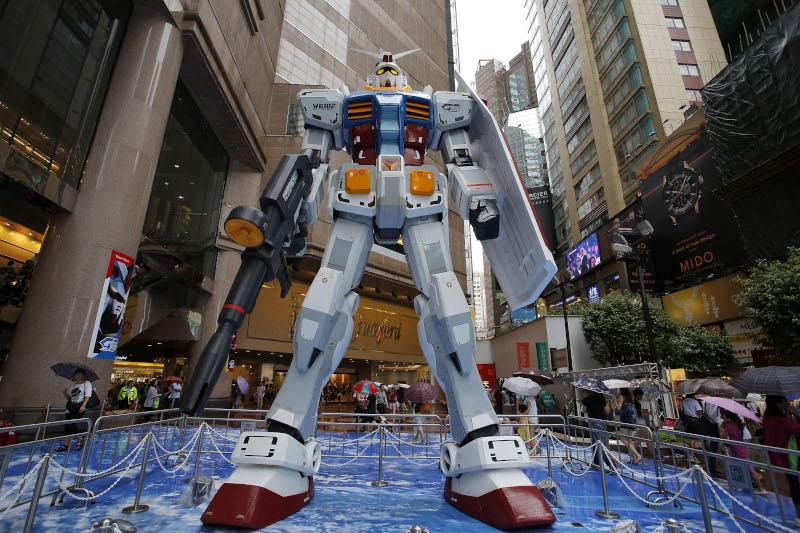 Το γιγαντιαίο ρομπότ Gundam