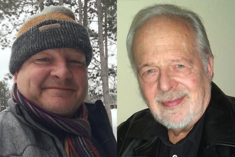 Δύο από τα πολλά παιδιά του γυναικολόγου: Τζόναθαν Στένσλαντ (αριστερά) και Μάικ Ότις (δεξιά)