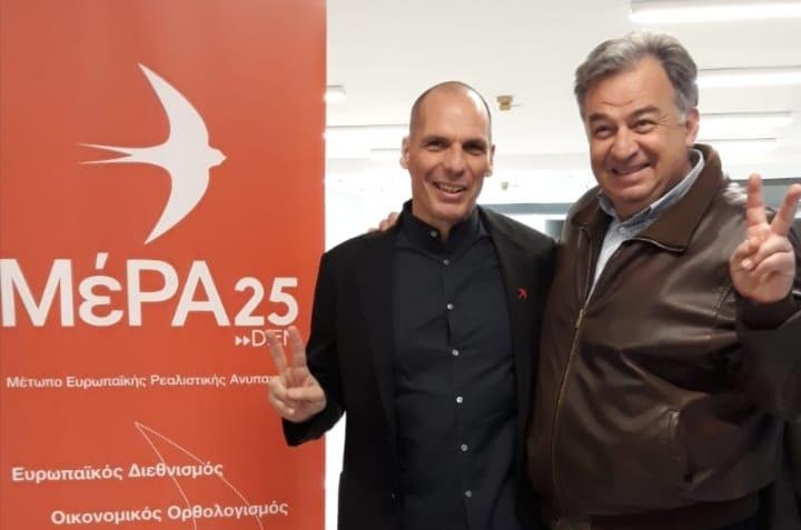 Ο Γιώργος Λογιάδης εκλέγεται βουλευτής με το ΜέΡΑ25