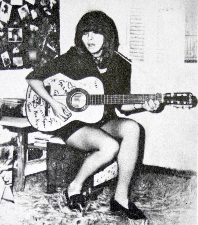 Η τραγουδίστρια Δέσποινα Γλέζου