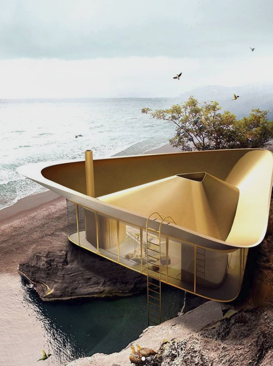 Εξοχικό με πισίνα για στέγη